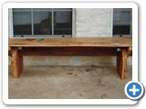 cypress mesquite juniper bench