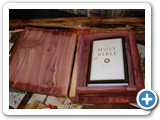 arom cedar bible box