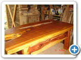 arom cedar coffee table three