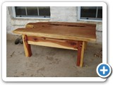 arom cedar and mt juniper coffee table
